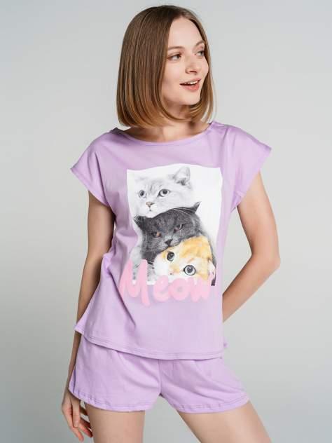 Пижама женская ТВОЕ 76845 фиолетовая XL