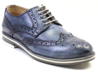 Туфли мужские Airbox 136051 синие 41 RU