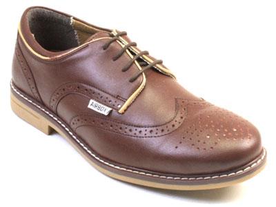 Туфли мужские Airbox 135954 коричневые 43 RU