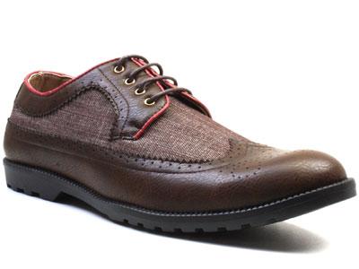 Туфли мужские Airbox 135565 коричневые 42 RU