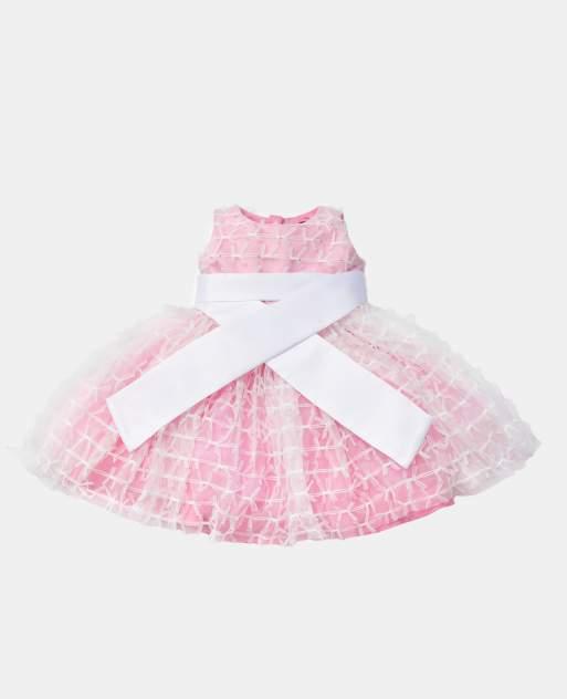 Платье для девочек Gulliver, цв. розовый, р.80