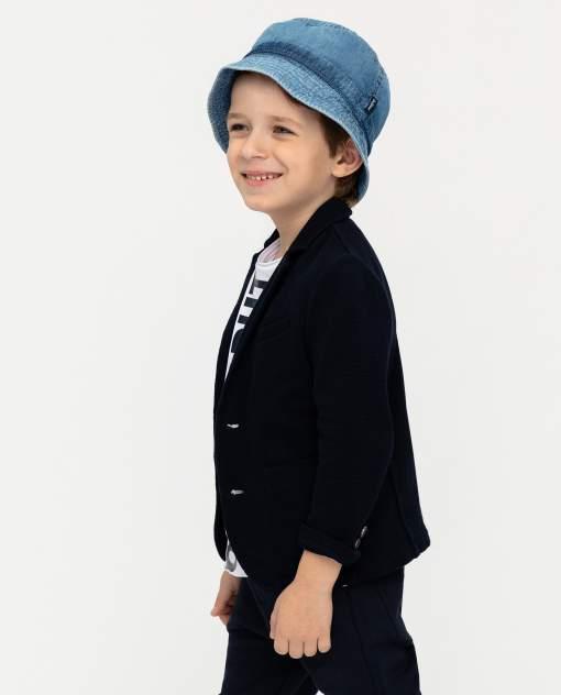 Пиджак для мальчиков Gulliver, цв. синий, р.128