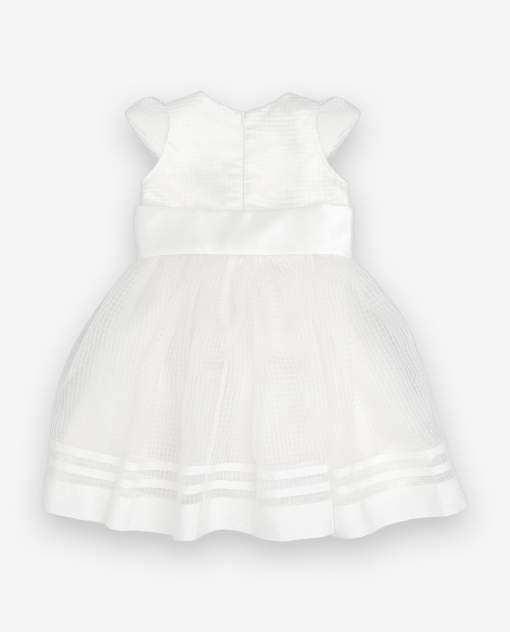Платье для девочек Gulliver, цв. белый, р.74