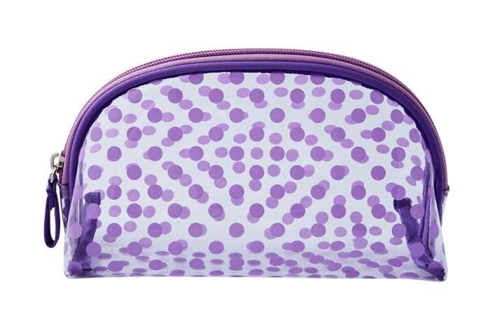 Косметичка женская Dewal Beauty BG-12 фиолетовая