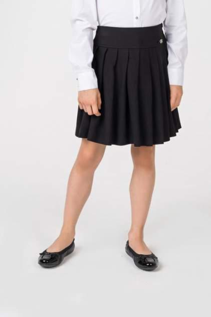 Юбка для девочки Gulliver, цв.чeрный, р-р 140