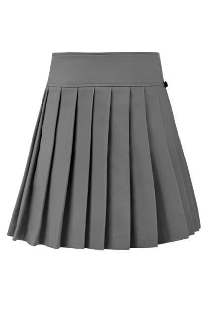 Юбка для девочки Gulliver, цв.серый, р-р 164