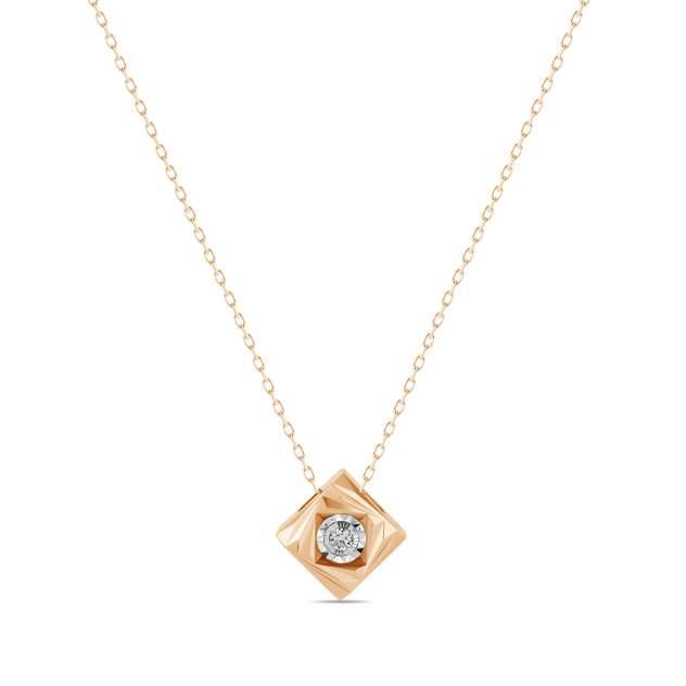 Колье женское MIUZ Diamonds (Московский ювелирный завод) N2018-NCA61107ADI/450