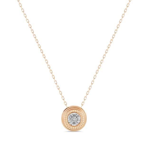 Колье женское MIUZ Diamonds (Московский ювелирный завод) N2018-NCA61109ADI/450