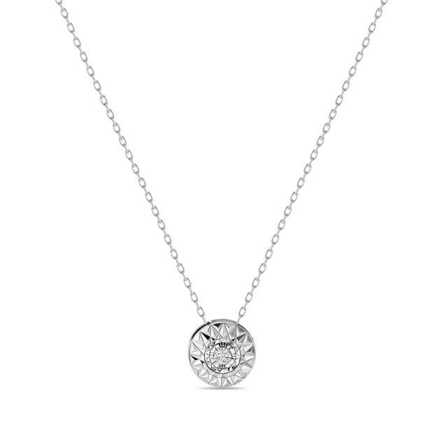Колье женское MIUZ Diamonds (Московский ювелирный завод) N2018-NCA61112ADI/450