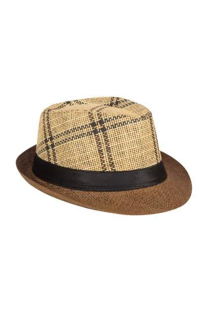 Шляпа женская Mellizos H10-14M 536 бежевая/черная/коричневая