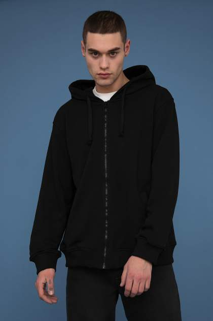 Толстовка мужская Finn Flare B20-61001, черный