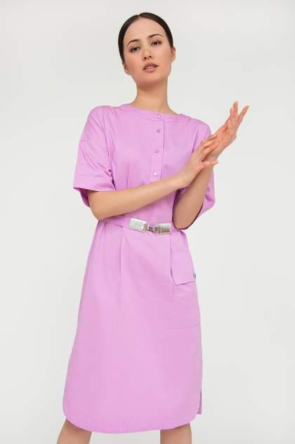 Платье женское Finn-Flare S20-12017 фиолетовое M
