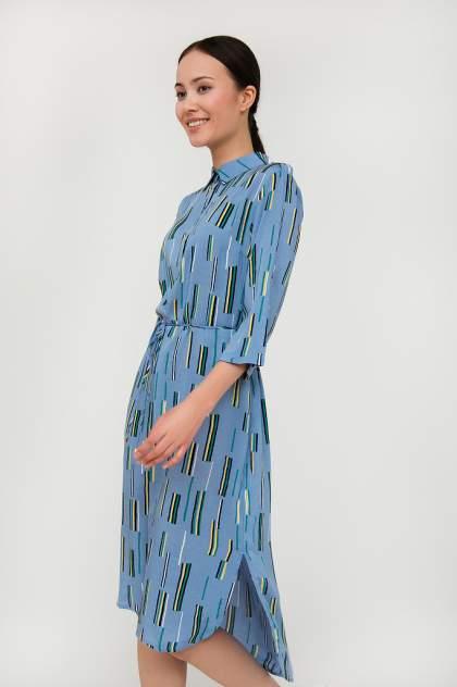 Платье женское Finn-Flare S20-14050 синее XXL