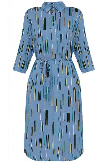 Платье женское Finn-Flare S20-14050 синее M