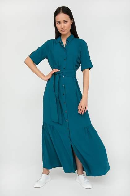 Платье женское Finn-Flare S20-14012 синее L