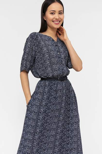 Платье женское Finn-Flare S20-12093 синее 3XL