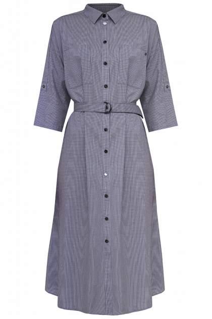 Платье женское Finn-Flare S20-12073 синее XXL