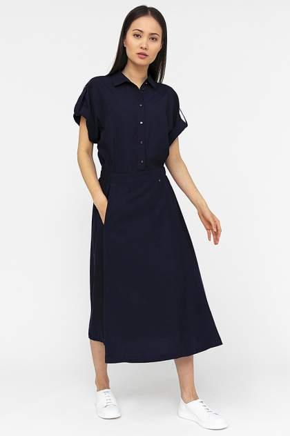 Платье женское Finn-Flare S20-12015 синее XL