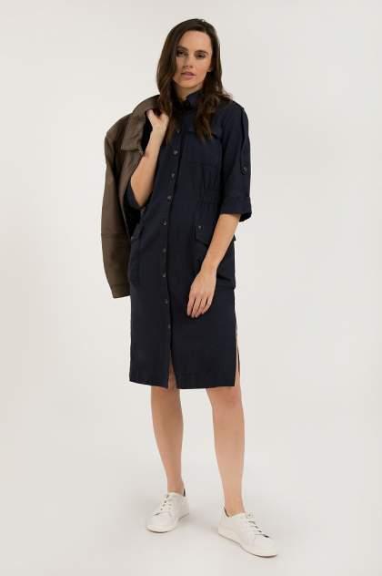 Платье женское Finn-Flare S20-12062 синее M