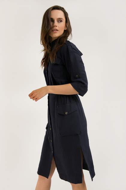 Женское платье Finn Flare S20-12062, синий