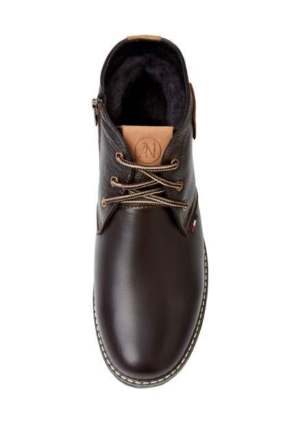 Ботинки мужские Alessio Nesca 26107940 коричневые 42 RU