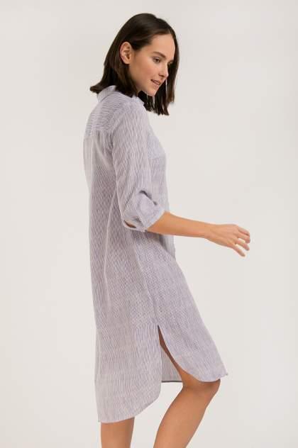 Платье женское Finn-Flare S20-14043 синее 3XL