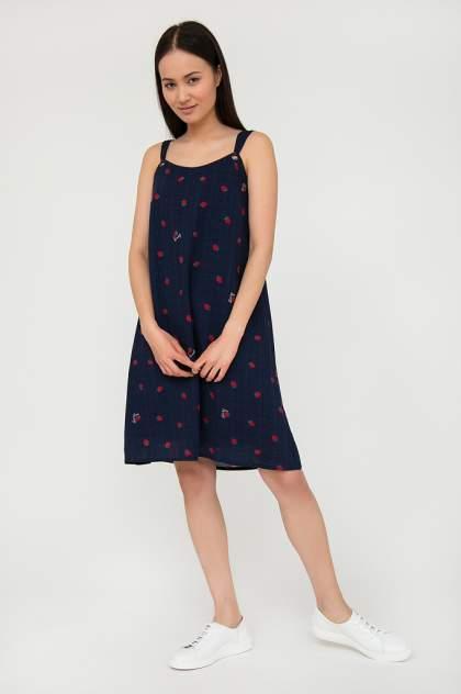 Платье женское Finn-Flare S20-32062 синее L