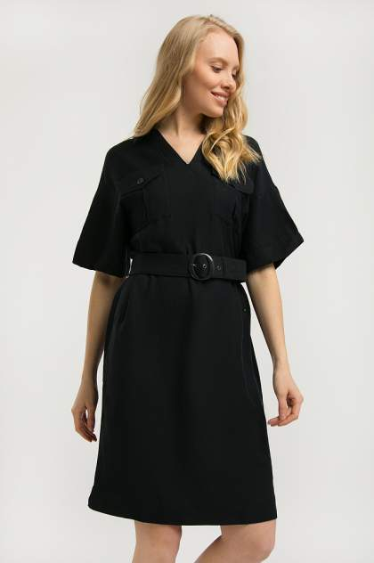 Платье женское Finn-Flare S20-12002 синее M