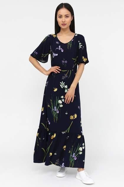 Платье женское Finn-Flare S20-12029 синее L
