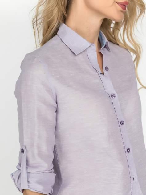 Рубашка женская DAIROS GD81100407 фиолетовая 40