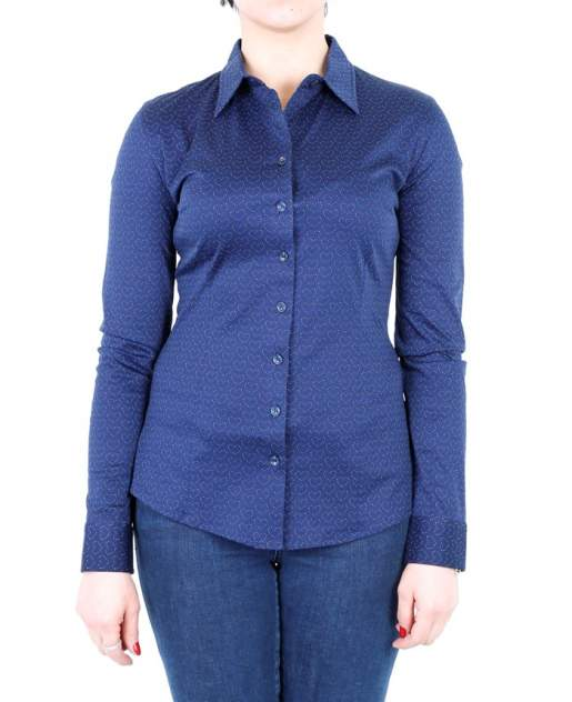 Рубашка женская DELFIN GD30300042 синяя XL