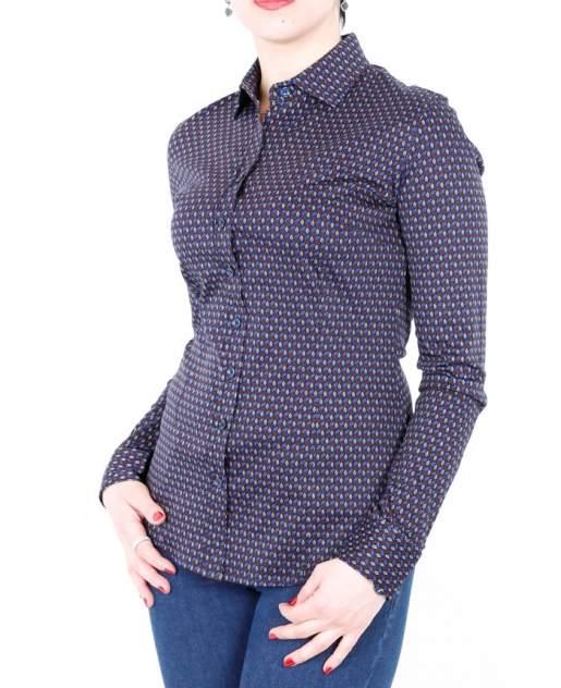 Рубашка женская DELFIN GD30300040 синяя XL