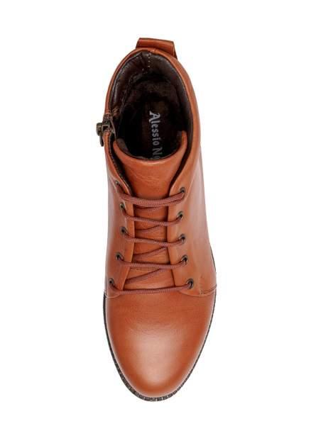 Ботинки женские Alessio Nesca 25607990 коричневые 37 RU