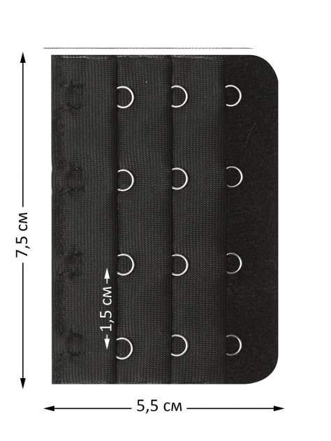 Удлинитель-расширитель для бюстгальтера Tenkraft Moni черный