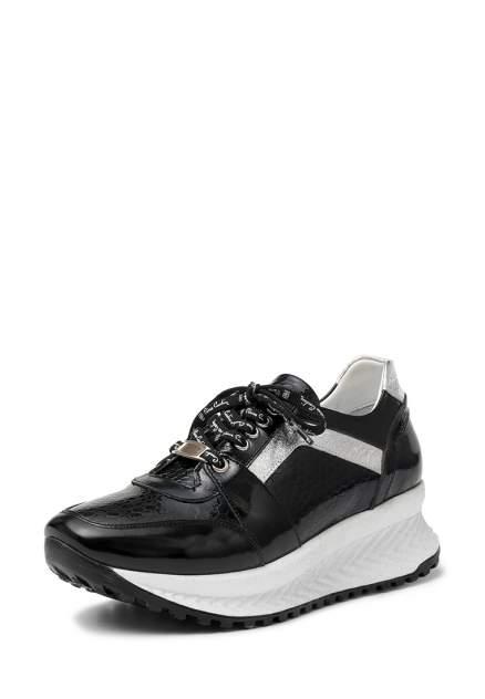 Кроссовки женские Pierre Cardin TR-MN-108-1712 черные/серебристые 37 RU