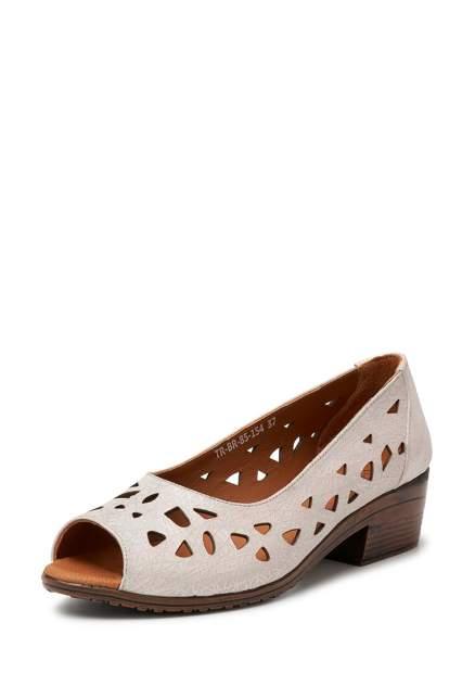 Туфли женские Alessio Nesca 112342, бежевый