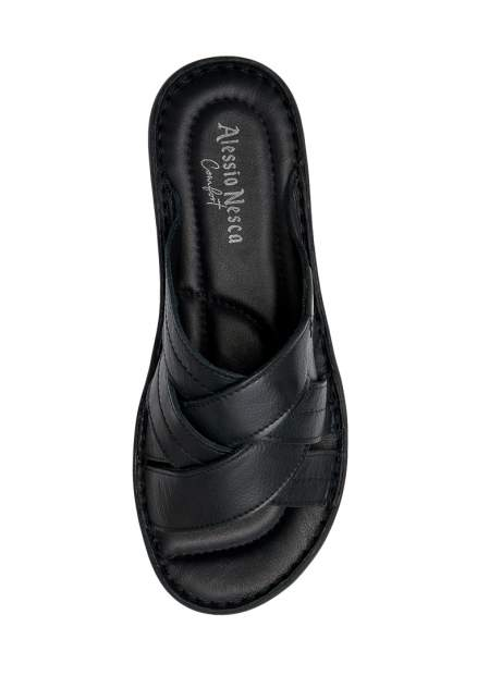 Шлепанцы мужские Alessio Nesca Comfort TR-AMR-046A черные 40 RU