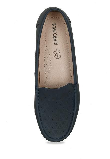 Мокасины женские T.Taccardi SY20SS-004 синие 38 RU