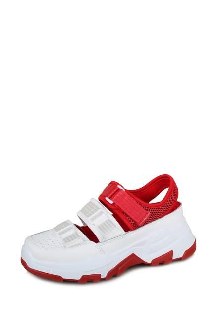 Кроссовки женские T.Taccardi MYZ20S-169 белые/красные 37 RU