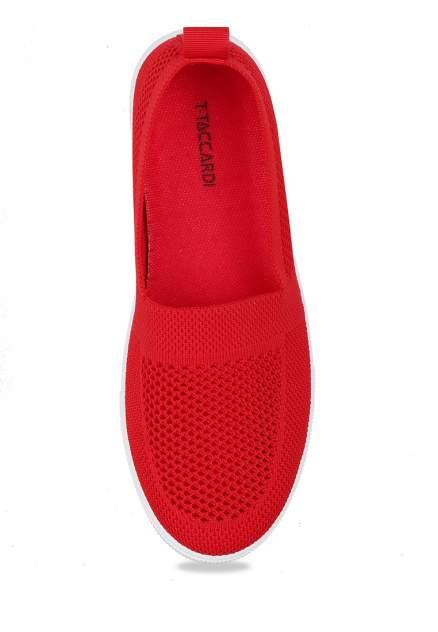 Слипоны женские T.Taccardi MYZ20S-165B красные 38 RU