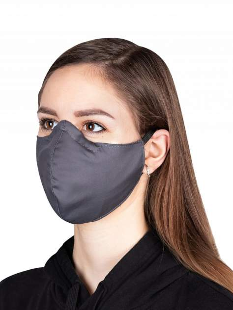 Многоразовая маска Heklya 57 MASK/L/серая