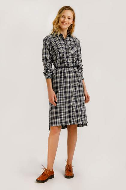 Платье женское Finn-Flare B20-12088 синее XXL