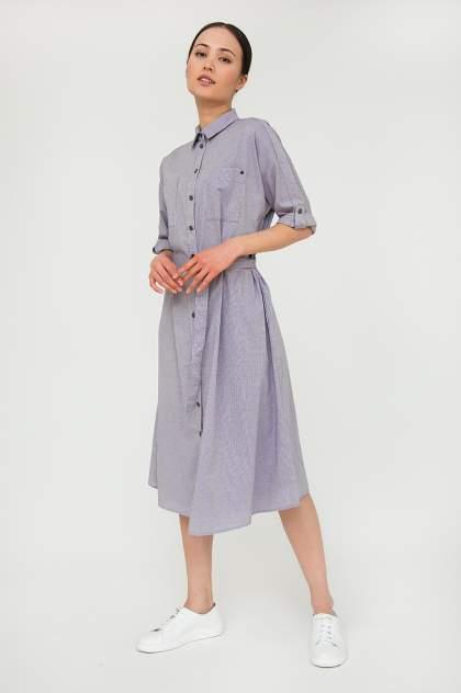 Платье женское Finn-Flare S20-12073 серое XXL