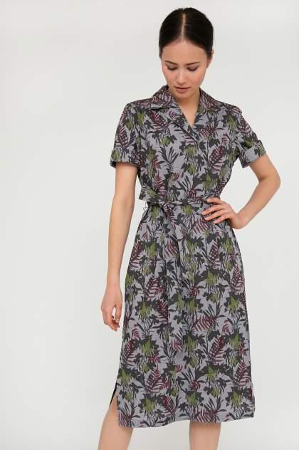 Платье женское Finn-Flare S20-120105 серое XXL