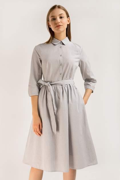 Женское платье Finn Flare B20-11092, серый