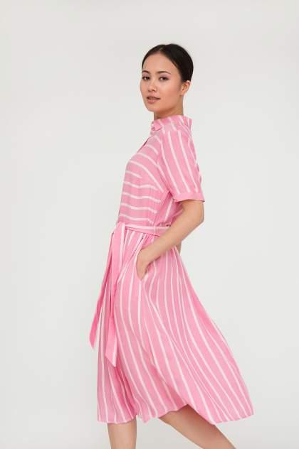 Женское платье Finn Flare S20-110123, розовый