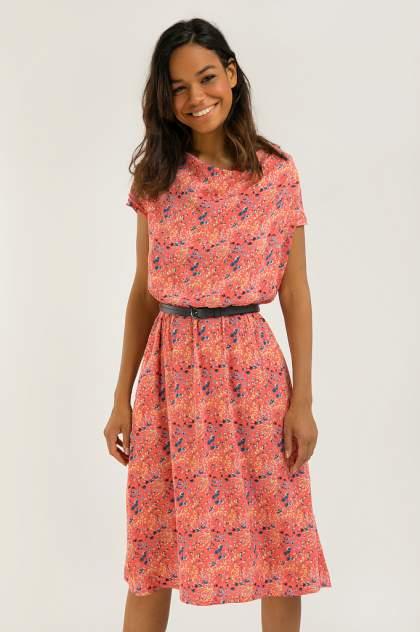 Платье женское Finn-Flare S20-12051 розовое 3XL