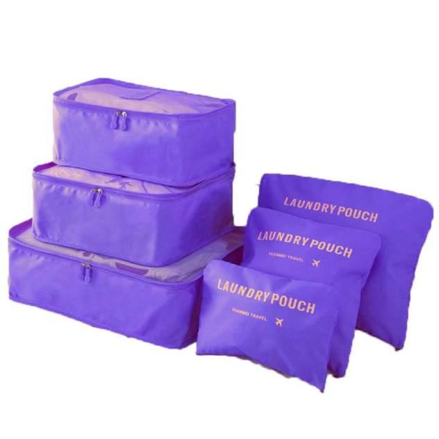Комплект унисекс Laundry pouch J0015F фиолетовый