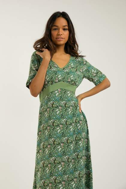 Платье женское Finn-Flare S20-12050 разноцветное XXL