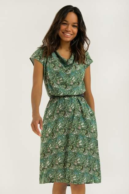 Платье женское Finn-Flare S20-12051 разноцветное 3XL